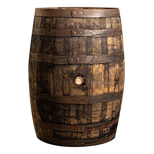 Midwest Barrel Company Authentic Kentucky Bourbon/Whiskey Barrel (53 Gallon) Used Genuine American Oak Wood Barrel