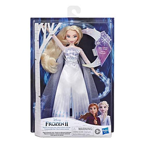 """Disney Eiskönigin Traummelodie ELSA singende Puppe, singt das Lied """"Zeige Film Die Eiskönigin 2, Spielzeug für Kinder"""