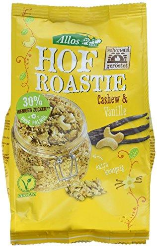 Allos Hof Roastie Cashew-Vanille, 6er Pack (6 x 300 g)