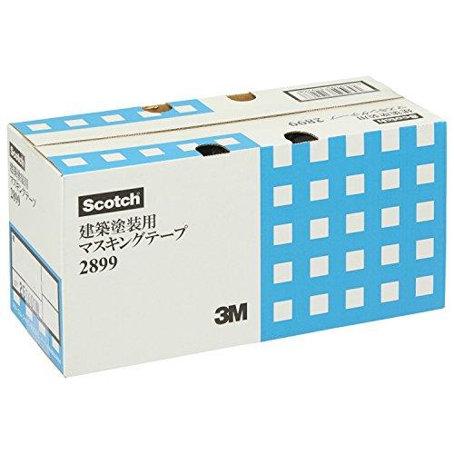 3M マスキングテープ 建築塗装用 2899 18mm×18m 7巻X10本 2899 18X18