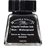 Winsor & Newton Tinta para Dibujo Drawing Ink - Frasco de 14ml, Tinta China liquida