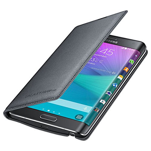 Samsung Galaxy Note Edge Wallet Cover - Retail Packaging - Black