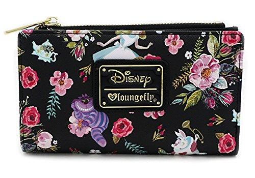 Loungefly X Disney Alice In Wonderland Floral Print Wallet