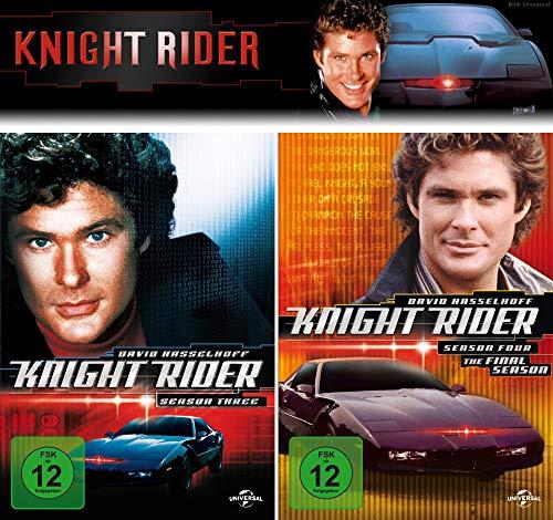 Knight Rider - Die komplette 3 + 4. Staffel (12-Disc / 2-Boxen)