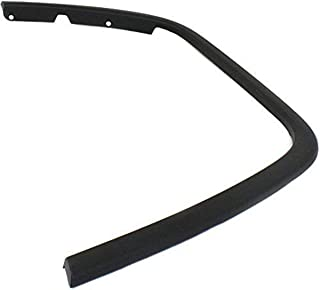 Sherman Replacement Part Compatible with JEEP GRAND CHEROKEE Driver Side Front wheel opening molding (Partslink Number CH1290106)