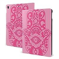 ピンクの目 IPAD 革製ケース PU 保護ケースカ 全面保護 傷つけ防止 多機能 ipad 10.2 inch 10.5 inch 装飾 ユニセックス