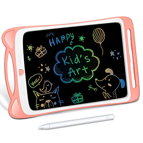 LODBY Toys for 3 4 5 6 Year Old Girls Gifts, Colorful LCD Doodle Drawing Board for Toddler Girl Toys for 2-3-4-5 Year Old Girls Birthday Gifts Age 3-6, Sketch Pad Drawing Tablet for Kids Toys Age 3-8