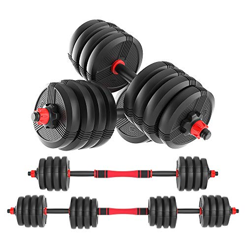 Dr.Home Free Weights Adjustable Dumbbells 100LB Now $116.99 (Was $259.99)