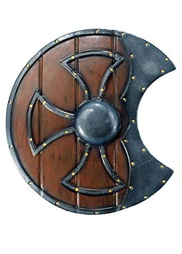 LARP Gobbo Foam Round Shield LARP Medieval Knight Shield Viking