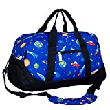 Wildkin Kids Overnighter Duffel Bag for Boys and Girls, Carry-On Size and Perfect for After-School...