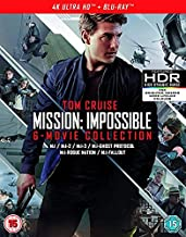 Mission: Impossible - 6 Movie Collection [4k UHD + Blu-ray]