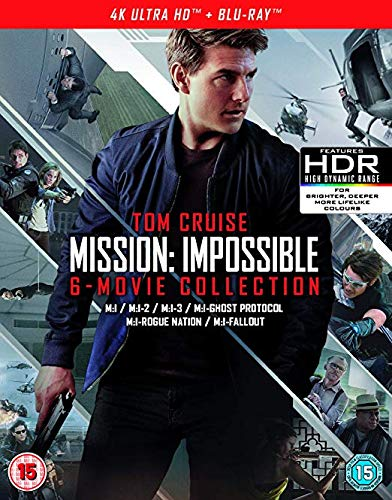 Mission: Impossible - 6 Movie Collection Blu-ray $33.83