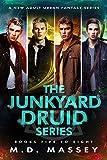 Junkyard Druid Books 5-8: An Urban Fantasy Boxed Set (Junkyard Druid Urban Fantasy Box Sets Book 2) (English Edition)