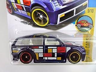 Hot Wheels 2016 H.W. Art Cars Boom Box Super Treasure Hunt Spectraflame Dark Blue 199/250