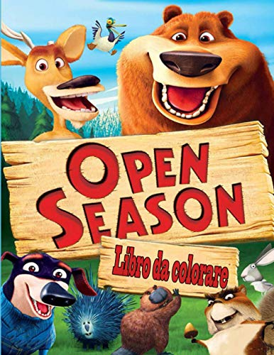 Open Season libro da colorare