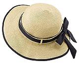 アルファックス ペーパー素材の風にとばされにくい帽子 ナチュラル