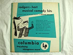 Rodgers-Hart, Musical Comedy Hits