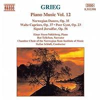 グリーグ:ノルウェー舞曲 Op. 35/ペール・ギュント Op. 23/ワルツ・カプリース