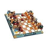 Checkers Tic TAC Toe Building Blocks, DIY Assemblez 3D Puzzle Modèle Classic Intérieur et extérieur Activité d'intérieur et de plein air pour les enfants et les adultes, meilleur pour le camping, la c