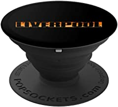 Vintage Retro Liverpool England Cool Art Gift - PopSockets Grip and Stand for Phones and Tablets