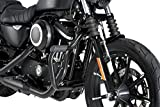 Customacces AZ1232N Defensas Modelo Mustache Negro Harley Davidson Sportster Superlow XL883L 04'-19'