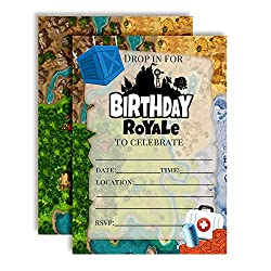 12 Free Fortnite Party Invitations Perfect For Birthday