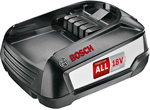Bosch BHZUB1830 Batterie Rechargeable 3000 mAh 18 V - Batteries Rechargeables (3000 mAh, 18 V, Noir, 1 pièce(s))