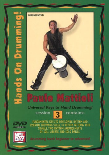 Hands On Drumming Session 3 Percussion (Miscellaneous) Dvd [UK Import]