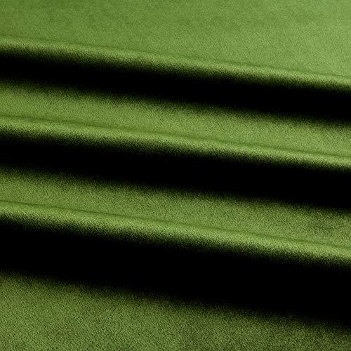 Royal Velvet Moss Green, Fabric by the Yard