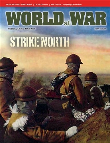 DG: World at War Magazine Issue #35, with Strike North, Japan Invades the USSR, 1941, Board Game
