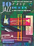 10 Easy Jazz Duets: C (Flute, Guitar, Violin, Vibraharp, Piano), Book & CD