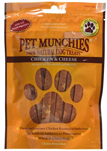 Pet Munchies Chicken & Cheese Treats for Dogs 100g,