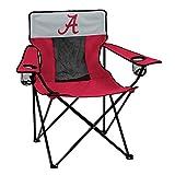 Logo Brands Collegiate Alabama Crimson Tide Elite Chair, Red, Adult