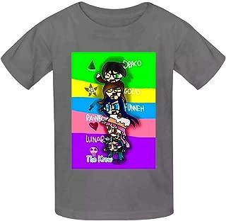 Fu-nneh T-Shirts Student Kids Tee Fashion Comfortable Children Short Sleeves