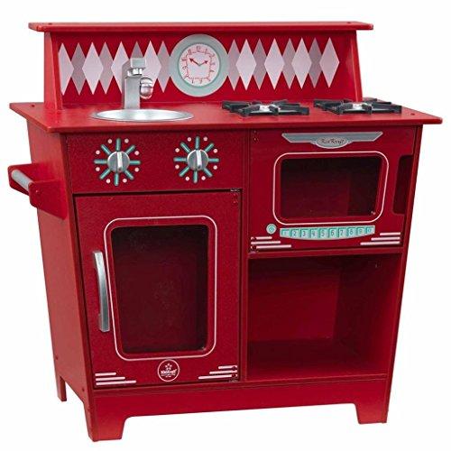 KidKraft Classic Kitchenette - Red