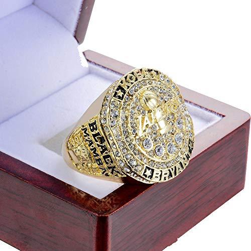 WANZIJING NBA Championship Rings, Los Angeles Lakers 2016 di Pallacanestro Champions Anello di Replica con l'esposizione di Sicurezza,13