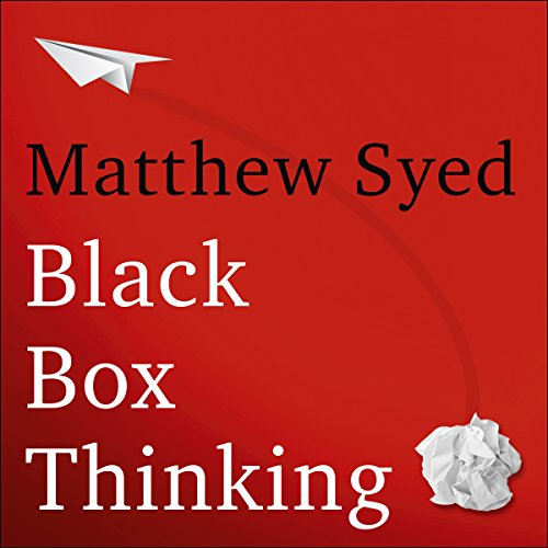 『Black Box Thinking』のカバーアート