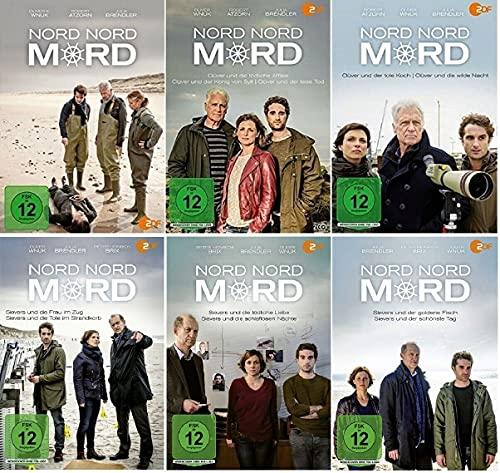 Nord Nord Mord 14 Filme Paket u.a. Sievers und der goldene Fisch [DVD Set]
