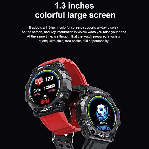 Reloj inteligente para deportes al aire libre, multifuncional, impermeable, multideportes, modo inteligente, Bluetooth 4.0, es adecuado para Android e iOS, color verde