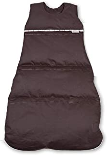 Aro Artländer 优质羽绒睡袋,长度可调节,年龄组,24个月,深棕色,130厘米