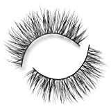 Lilly Lashes in Diamonds, False Eyelashes, Natural Look and Feel, Lite Mink Lashes, Reusable Up To 15 Wears, 15mm Lash Length