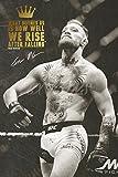 Conor McGregor impresión fotográfica firmada con cita, N. 5–12x 8cm (A4)–excelente calidad