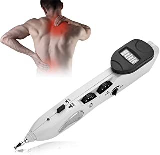 Filfeel Acupuntura Masaje Pen, Digital Electronic Acupuncture Massage Pen para aliviar el Dolor 10.8 x