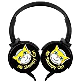 Stampy-Cat_Logo Wired Mega Bass Stereophone Medium for Kids or Adults