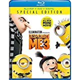Despicable Me 3 DVD + Blu-ray Steve Carell