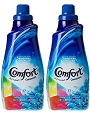 Comfort Concentrated Fabric Softener Iris & Jasmine, 1.5L (Pack of 2)