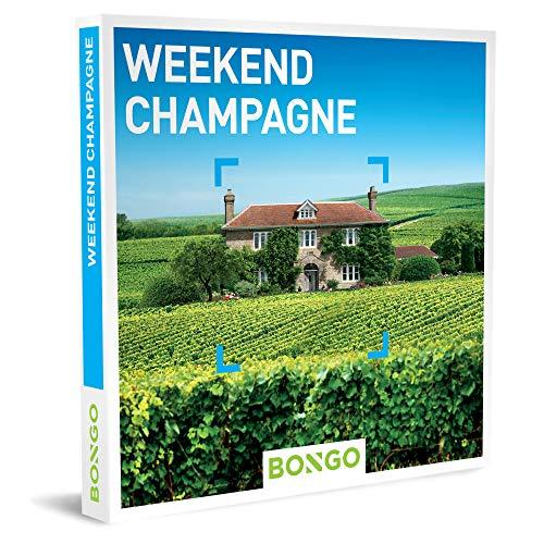 Bongo Bon - Weekend Champagne   Cadeaubonnen Cadeaukaart cadeau voor man of vrouw   33 hotels in de champagnestreek
