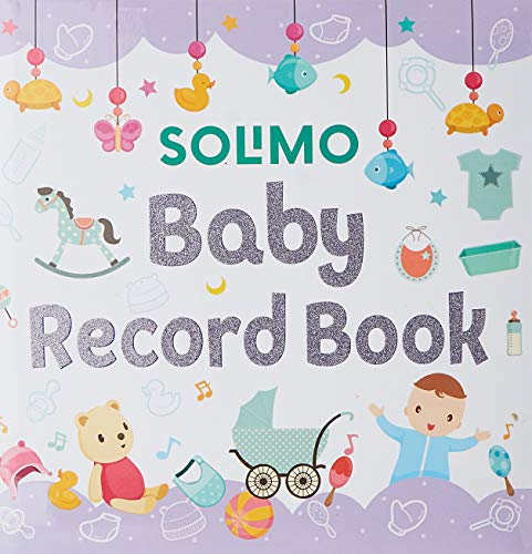 Amazon Brand - Solimo Baby Record Book