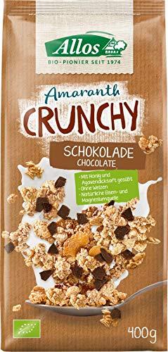 Allos Bio Amaranth Crunchy Schokolade (6 x 400 gr)