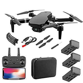 DYHF S70PRO WiFi FPV Drone with 4K HD Camera RC Quadcopter with Altitude Hold Gravity Sensor Function One Key Take Off/Landing Foldable Drone with Gesture Photo Video APP Control 49PN6CLW10BM199XGMV